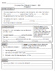 I Survived the Children's Blizzard 1888 worksheets (all chapters 1 - 21)