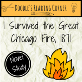 I Survived the Great Chicago Fire, 1871 Comprehension Questions and Lesson Plans