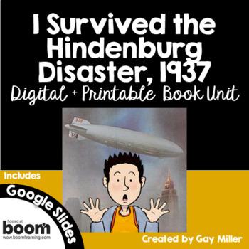 I Survived the Hindenburg Disaster, 1937 Novel Study: Digital + Printable Unit