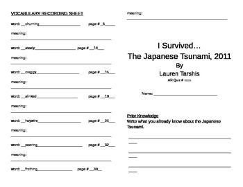 I Survived the Japanese Tsunami