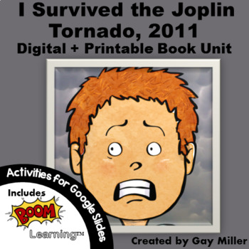 I Survived the Joplin Tornado, 2011 Novel Study: Digital + Printable Book Unit