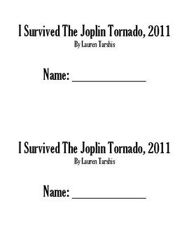 I Survived the Joplin Tornado Book Club