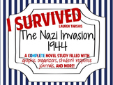 I Survived the Nazi Invasion, 1944: A Complete Novel Study!