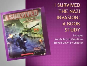 I Survived the Nazi Invasion: Book Study