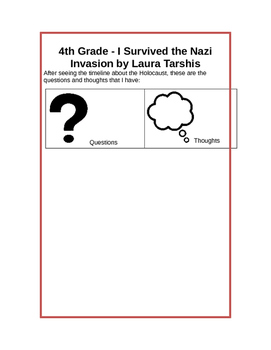 I Survived the Nazi Invasion, 1944 - Common Core Aligned - 4th Grade