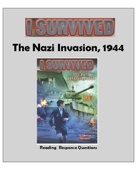 I Survived the Nazi Invasion -- Reading Response Questions