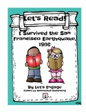 I Survived the San Francisco Earthquake, 1906: Let's Read! (Rdg. Resp. Pk. GR S)