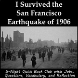 I Survived the San Francisco Earthquake of 1906 - Book Club