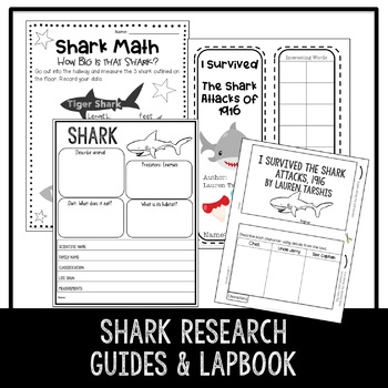 I Survived the Shark Attacks, 1916  STEM Activities