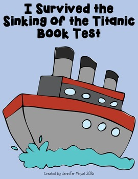 I Survived the Sinking of the Titanic Book Test