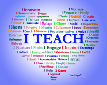 I Teach - And A Lot More