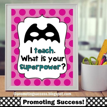 I Teach What is Your Superpower? Teacher Appreciation Gift, Christmas Gift