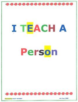 I Teach a Person