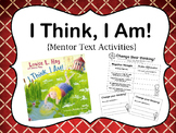 I Think, I Am: Positive Affirmations {Growth Mindset Mentor Text}