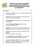 """I Think I'm Done"" Revision Checklist"