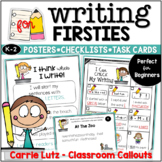 Writing for First Grade - Checklists, Posters, Task Cards