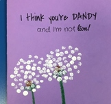 I Think You're Dandy Mothers Day Card