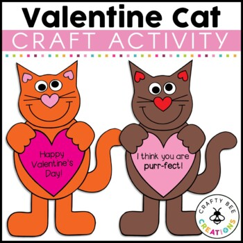 Valentines Day Craft {I Think Your Purr-fect}