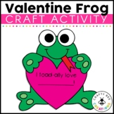 Valentines Day Craft {I Toadally Love You}