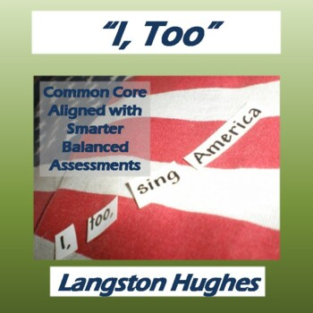 """""""I, Too"""" by Langston Hughes: Poem, Questions, & Key"""