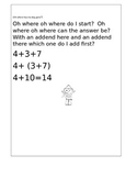 I Tune for the math at heart-First grade
