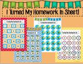 I Turned My Homework In Chart!