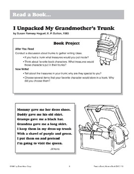 I Unpacked My Grandmother's Trunk