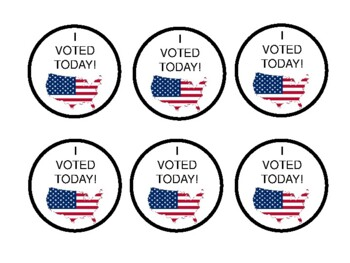 I VOTED TODAY!