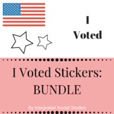 I Voted Stickers: BUNDLE