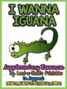 Reading Street I Wanna Iguana RTI Game
