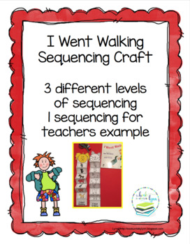 I WENT WALK   SEQUENCING CRAFT