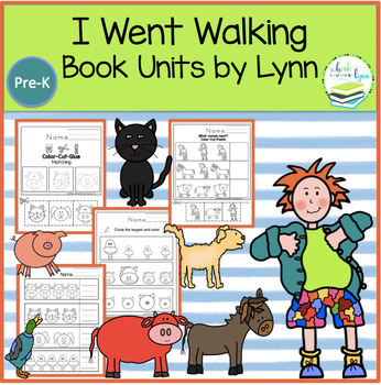 I WENT WALKING BOOK UNIT