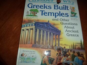 I WONDER WHY GREEKS BUILT TEMPLES     ISBN 0-7534-5056-9