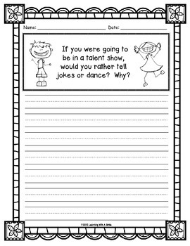 Writing Made Easy: No-Prep Kid-Friendly Writing Activities