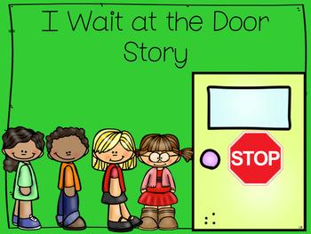 I Wait at the Door Social Story