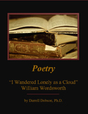"""""""I Wandered Lonely As a Cloud"""" -- William Wordsworth -- Poetry"""