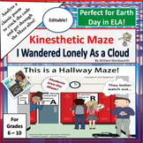 I Wandered Lonely as a Cloud | Kinesthetic Maze (Perfect f