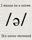 I Wanna Be A Schwa