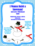I Wanna Build a Snowman-Smart Notebook Math Problem Solving