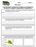 I Wanna Iguana Assessment Reading Street Third Grade