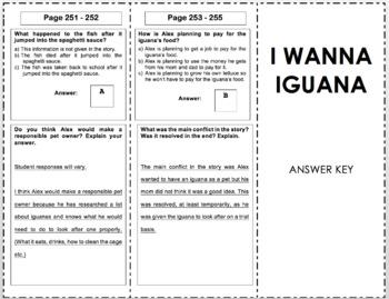I Wanna Iguana - 3rd Grade Reading Street