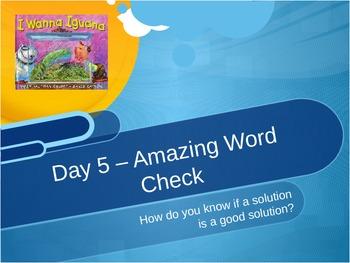 I Wanna Iguana Amazing Words
