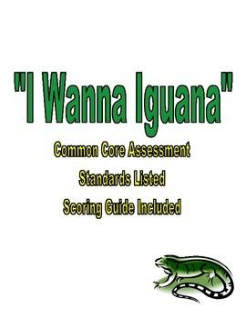 I Wanna Iguana Assessment
