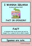 I Wanna Iguana - Fact or Opinion?