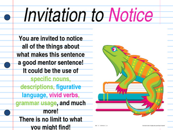 I Wanna Iguana Interactive Mentor Sentence Teaching Powerpoint