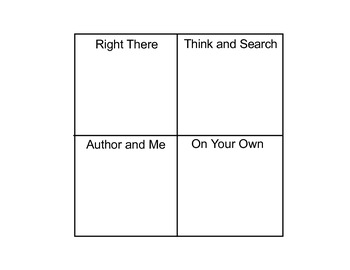 """I Wanna Iguana"" Question Cards - Third Grade Reading Street® Unit 2 Week 2"