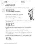 I Wanna Iguana ( Reading Comprehension Quiz)