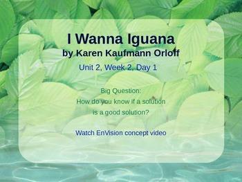 I Wanna Iguana Powerpoint Reading Street 3.2.2