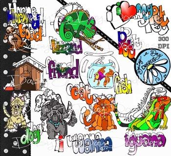 I Wanna Pet - Iguana, Lizard, Dogs, Cat, Fish, Horned Toad