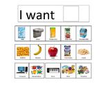 I Want-Communication Board
